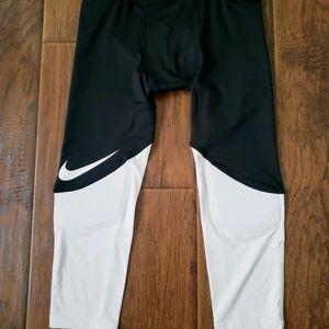 Nike Football Padded Hip/Knee 3/4 Men's Compressio